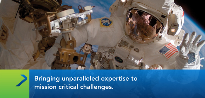 Bringing unparalled expertise to mission critical challenges
